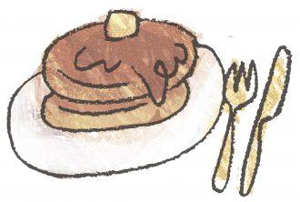 お家のホットケーキ