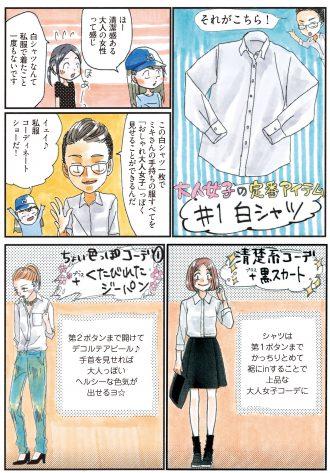 1枚あれば一気にオシャレ♡ 着回し力抜群の白シャツ!