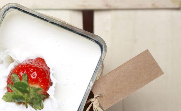 季節のフルーツと一緒に♡ローカロリーで美味しいミルク寒天