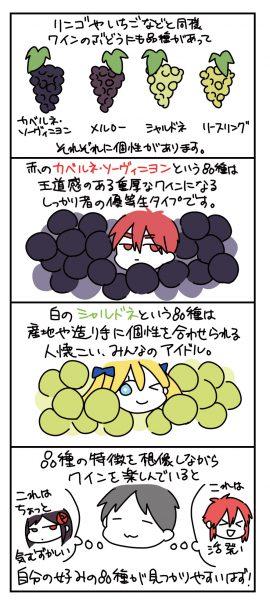 ワインの6つの「品種」とは