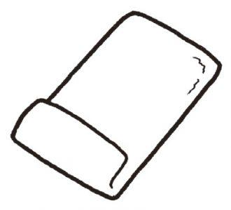 バスタオル枕の作り方1