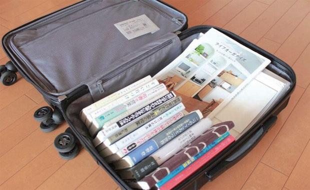 ふだん使わないスーツケースのとっても便利な活用法