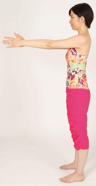 正しい姿勢の立ち方‗横