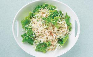 レタスとキャベツのサラダ