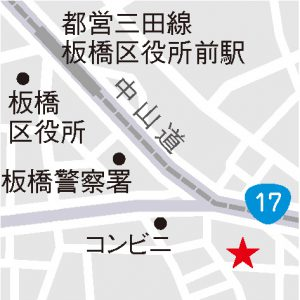 トランポリン地図