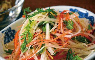 大根と和ニンジンのサラダ
