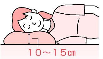 横向きに寝る時の枕選びのポイント