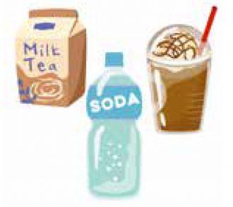 加糖の飲料