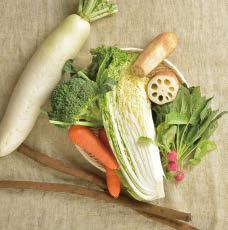 冬の野菜玉