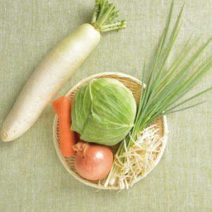 基本の野菜玉