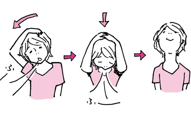 自律神経を整える首ストレッチ