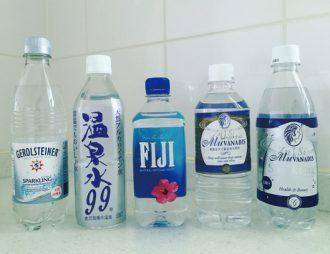 水は軟水・硬水や無糖の炭酸水どれでもOK