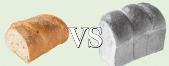 ライ麦パンVSイギリスパン
