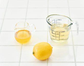 レモン酢_材料