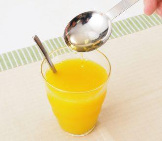 りんご酢オレンジジュース割り