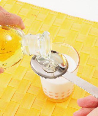 りんご酢ミルク_作り方1