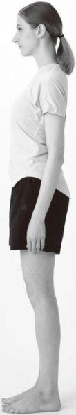 立位だけでもポステリアチェーンと呼ばれるカラダの後ろ側の筋肉をフルに使う