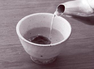 梅干し白湯