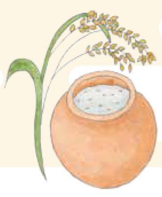 御神酒のほかには、お餅も同じくお米から作られる御神饌として尊ばれる