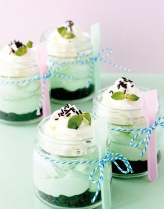 ミントレアチーズケーキ