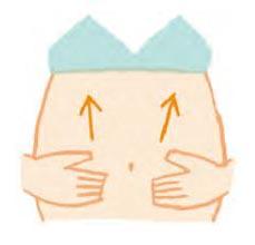 妊娠線予防マッサージ2
