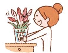 花をいただいたらすぐに飾るべき?