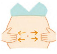 妊娠線予防マッサージ1